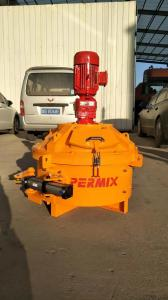 China Planetary Cement Mixer Quick Mixing PMC50 Smallest Size 50L Output Capacity on sale