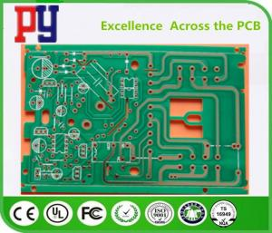 China 1 Layer Single Sided PCB Board 0.20mm Hole Size 0.8mm Thickness ROHS Approval on sale