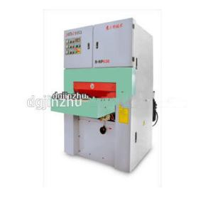 China Automatic Metal Sheet Hairline Finishing Machine Wire Drawing With Abrasive Belts on sale