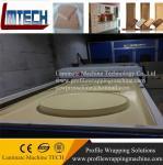Automatic vacuum membrane press machine for furniture manufacturing