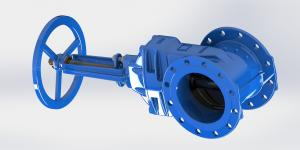 China Non Rising Stem Available Water Gate Valve Handwheel Or Top Cap Operated on sale