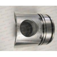 Custom Forged Steel Pistons , Vehicle Piston  Car Engine For Komatsu PC200-7 OEM 6738-31-2110