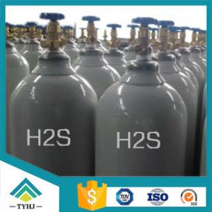 China 99.9% H2S gas factory price Hydrogen Sulfide gas factory price on sale