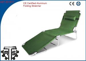China Portable Aluminum Folding Stretcher , Foldable Military Rescue Stretcher on sale