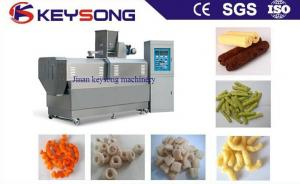 China Stainless Steel Puff Corn Snack Food Extruder Machine Puff Snack Extruder on sale