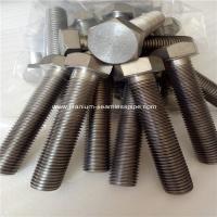Titanium hexagon bolts,M20* 100MM,GRADE 2 TITANIUM HEX HEAD CAP SCREW,FULL THREAD,100 PCS