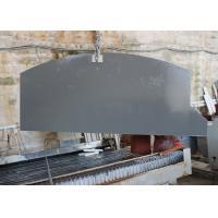 Waterproof Grey Mirror Fleck Quartz Stone Countertops , Solid Surface Countertops
