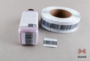 China Professional Anti Theft Security Labels , Hot Melt Adhesive Retail Security Labels on sale