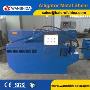 China Chinese Alligator Shear Scrap Metal Shear for scrap metal recycling yards Factory price on sale