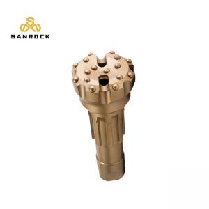 China Dth Rock Drill Bit 6 Inch  High Air Pressure  Carbon Steel Material For Ore Mining on sale