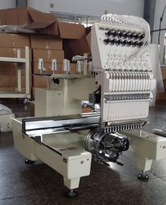 China One Head Large Format Embroidery Machine 12 Needle With  270° Wide Angle Cap System on sale