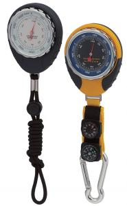 China Digital Altimeter Barometer Mingle Thermometer Hanging Ring For Outdoor Activity on sale