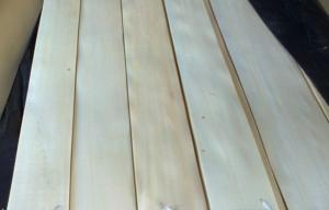 Quality 0.45 mm Basswood Quarter Cut Veneer With Unobvious Wood Grain for sale