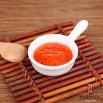 10g Mini Japanese Chili Seasoning Thai Sweet Chilli Sauce In Orange Red Color