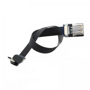 China Super Flexible FPC Charging USB Flat Ribbon Cable USB 2.0 Female USB-C OTG AV Output on sale
