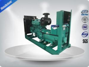 China Standby Power 293 KW / 366 KVA Open Diesel Generator Cummins Engine with Faraday Alternator on sale