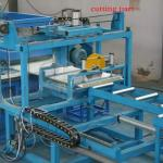 China High Speed Sandwich Panel Machine 8 - 12 M / Min Production Capacity 5.5 KW Power wholesale
