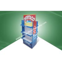 China Strong Three Shelf Two -side - show Corrugated pallet Display For Home Products Selling to Wal-mart on sale