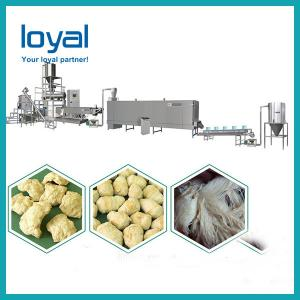 China Twin Screw Extruder Fully Automatic Corn Puff Small Snack Pellets Food Extruder Making on sale