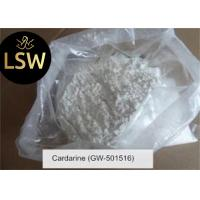 White Color SARMs Raw Powder GW-501516 / GSK-516 99% Purity For Weight Loss
