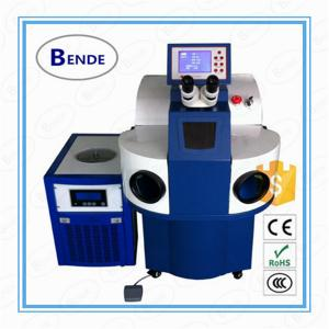 China Stainless steel jewelry ring Laser Welding Machine use for soldering jewelry on sale