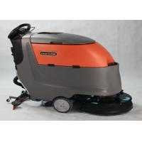 China Dycon Automatic Compact Floor Scrubber Machine Single Brush Multiple Water Injectors on sale