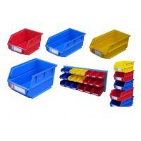 Multi Colored Heavy Duty Industrial Plastic Bins For Storage Cargo