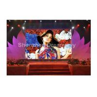 40000 Pixels SMD P 5mm Indoor Full Color LED Display for Advertising , CAT-5e cable