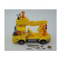 Popular Building And Construction Toys Robot Truck 3 Deformation Yellow Color