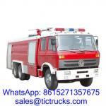 China Cheap 12000L 210HP Foam Fire Truck 6 x4 DongFeng for sale wholesale
