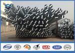Metal le poteau de distribution d'énergie d'acier électrique, courriers galvanisés en métal 25 ans de Warrantly