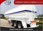 China 2 / 3 Axles Fuel Tanker Semi Trailer With 2 - 10 Compartments 30-60CBM wholesale