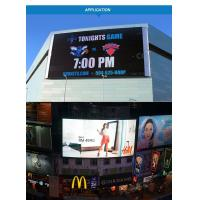 Anti - Wind Grid Billboard Advertising Led Display Screen 6000 Nits 1R1G1B