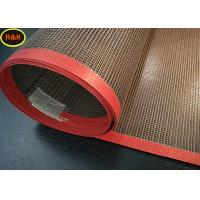 Acid Resistance Teflon Conveyor Belt , Screen Printing Dryer Belt For Food Drying