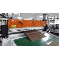 Three Layers  PC ABS Co-Extrusion Luggage Sheet Extrusion Machine
