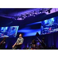 Smd Indoor Stage Rental Led Display Ultra Thin Panel 4.81mm 160 Degree