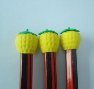 China pencil topper animal eraser on sale