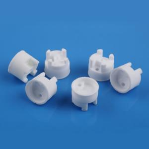 China Industry Alumina Steatite Ceramic Shell  Flat Grinding For KSD Thermal Switch on sale