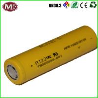 China Lifepo4 Lithium Ion Battery Cells 10ah 3.2v , 18650 Rechargeable Li Ion Battery on sale