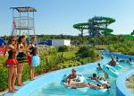 Funny Hotel Resort Lazy River Water Park For Family , PLC Central Control