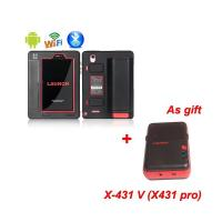 Original X431 V (X431 Pro) + Mini WIFI Printer As Gift Wifi/Bluetooth Tablet Full System