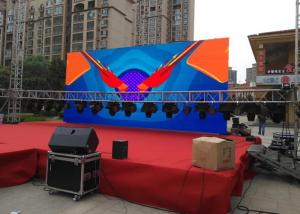 China Outdoor Stage Led Display HD Video Display signs P4.81 Ultra Thin & Eco friendly Outdoor Led Screens on sale