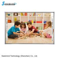 multi-touch Aluminum Frame smart board Infrared Electronic Whiteboard for classroom E-learning
