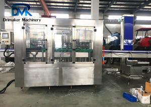 China Stable Performance Glass Bottle Filling Machine 3.1kw Wine Bottling Line on sale