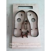 Sandals sole steel rule cutting dies China maker, flatboard Sandals sole steel dies
