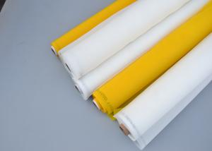 China Plain Weave 100% Polyester Silk Screen Printing Mesh ROHS SGS FDA Certificate on sale