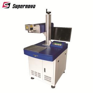 China Industrial UV 355nm 3w 5w 10w UV Laser Marking Machine for Glass/Plastic/Wire/Phone on sale