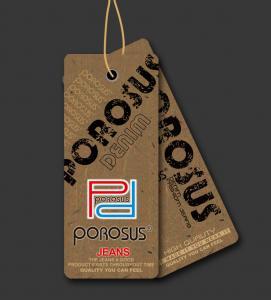 China Cowboy Shirts and Jeans Hang Tags on sale