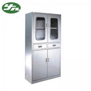 China Hospital Stainless Steel Medical Cabinet , Medical Supply Storage Cabinets on sale
