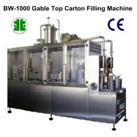 Semi Automatic Juice Paper Box Filler and Sealer